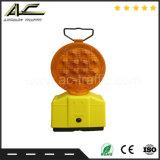 대중적인 원통 모양 물통 유형 휴대용 태양 바리케이드 램프