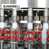 Bouchon d'aluminium Bouteille PE Lavage machine d'étanchéité de remplissage