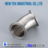 Stainless Steel Sanitary 45 Degree Tri Clamp Elbow