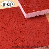赤い磨かれた中国人の輝きの人工的な水晶