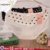 Hot Dowries Print Mesh Sheet Design Cute Underwear Knitting machine Lovely Girls Wearing Panties