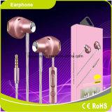 Venta caliente atada con alambre en el auricular Headpset móvil del oído con el Mic