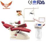 La FDA a approuvé Cuspidor céramique pivotant fauteuil dentaire Dental Patient Fauteuils dentaires Président Prix/UK/joli fauteuil dentaire