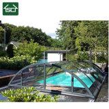 De duidelijke Dekking van het Zwembad van het Polycarbonaat & van het Aluminium