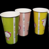Taza de la bebida del jugo del papel de protección del medio ambiente disponible