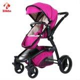 Facile à siège ou de fixer, pliable poussette de bébé