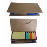El bloc de notas Bloc de notas de papel adhesivo portátil alumno con el lápiz