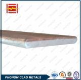 Плакированные листовые материалы взрывно заварки меди/алюминия/меди биметаллические одетые металлопластинчатые