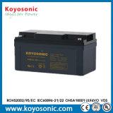 Batterie profonde solaire de cycle de la batterie d'accumulateurs 12V 70ah avec la longue durée de vie