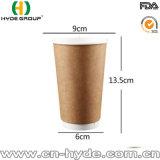 Бумажный стаканчик кофеего Kraft горячего сбывания устранимый