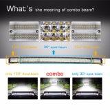 Barra chiara fuori strada luminosa eccellente di Cruved 8d 924W 52inch LED, 24 indicatori luminosi del camion di volt