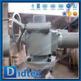 De Klep van de Poort van het Roestvrij staal van Didtek API600 met Actuator
