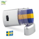 비 스웨덴 유독한 피부 친절한 깃발은 바디 마스크 페인트를 파랗거나 노란 착색한다