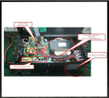 1kw 2kw 3kw LCD fora do inversor solar híbrido da grade com controlador de MPPT