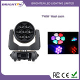 段階のための小型7*40 LEDの洗浄移動照明を明るくしなさい