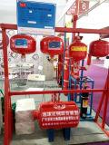 Temperatura de la venta directa de la fábrica de China que detecta el dispositivo colgante del extinguidor de Hfc227ea