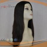 Peruca judaica do cabelo longo humano de 100% (PPG-l-01094)