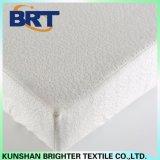 Cubierta de colchón de la fibra del telar jacquar de la capa de bambú del aire/protector impermeables