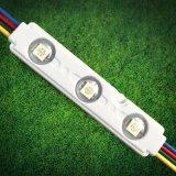 Luz do módulo de LED RGB com Epistar SMD LED 5050