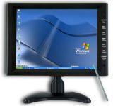 Monitor da tela de toque do monitor do computador de secretária do diodo emissor de luz de 17 polegadas
