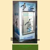 Eis-Verkaufsberater mit einzelner Glastür