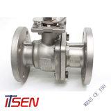 API6d 2PC 탄소 강철 플랜지 끝 종류 150/300 (lb) 공 벨브