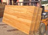 Mattonelle di legno delle lastre dell'arenaria del teck