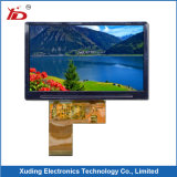 visualización positiva del LCD del gráfico del conector del diente FPC de 128X64 Stn