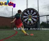 Dards gonflables du football d'utilisation de dard commercial de pied pour des événements adulte et gosses