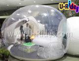 2つのトンネルが付いている膨脹可能な泡テント