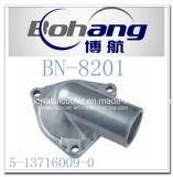 Boîtier de thermostat de pétrole d'Isuzu de pièce de rechange d'engine de Bonai (OE : 5-13716009-0)