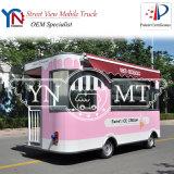 트럭을 식사하는 아이스크림 간이 식품