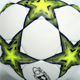 Auf höchster Ebene rauer Korn-Zoll gedruckte Fußball-Kugel