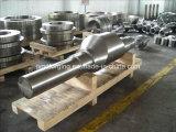 Eixo aluído do sem-fim de aço do forjamento SAE8620 SAE4140