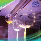 Beleuchtung-Helium-transparenter Ballon der WeihnachtsValentinsgruß-Partei-LED