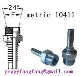 Ajustage de précision de pipe en caoutchouc à haute pression hydraulique d'embouts de durites DK métrique, Dkj, Dki, Dkol, Dkos, Orfs, Bsp, Jic, la Floride, garnitures d'Orfs