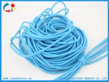 Usine Cordon élastique bleu ciré étanche pour cordon
