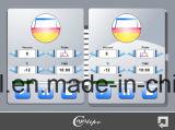 De draagbare Dubbele Machine van Cryolipolysis van Handvatten