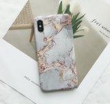 De nieuwe Gevallen van de Telefoon van de Stijl van de Aders van de Douane IMD Marmeren voor iPhone X