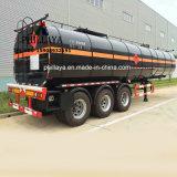 3 de Tanker van het Asfalt van assen 50000liters met Chassis van de Aanhangwagen van de Vrachtwagen de Semi