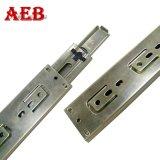 Métal proche mou de fois de diapositives 3 de tiroir du longeron 45mm de Module de cuisine glissant des pistes