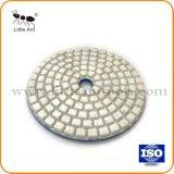 80mm Blanc polissage de diamants de la résine des plaquettes pour marbre et granit