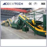 Machines van het Recycling van het Afval van de Film van pvc van het huisdier de de Plastic/Wasmachine van de Film