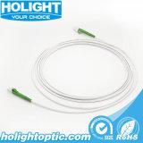 Оптическое волокно Patchcords LC/APC с бронированным кабелем