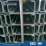 Purlins d'acciaio galvanizzati della sezione di C per la struttura d'acciaio