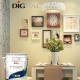 Fabrication de prix de l'intérieur au latex acrylique Peinture murale blanche