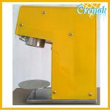Unterschiedliche Nudel-Form Gelato Isolationsschlauch-Eiscreme-Maschine für die Werbung verwendet