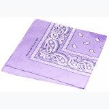 Paisley filles foulard carré coton bandeaux Bandanas mouchoirs
