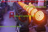 36*18W RGBWA紫外線LEDの洗浄ズームレンズの移動ヘッド段階ライト