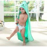 綿のフード付きの赤ん坊/子供/子供の浴室タオル
